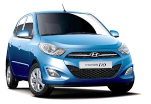 Hire i10 Self Drive Car Hire Goa