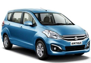 Book Self Driven Ertiga in Goa