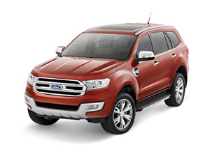 Sport utility Ford Car for hire in Goa