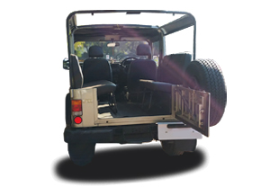 Hire Open jeep for Self Drive in Goa