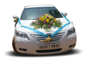 Luxury Sedan for hire in North Goa