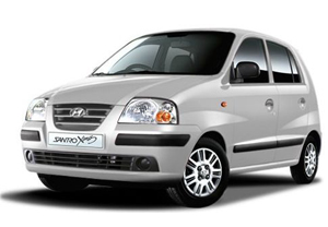 Santro Car for hire in Goa