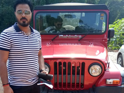 Hire Mahindra Thar in Goa
