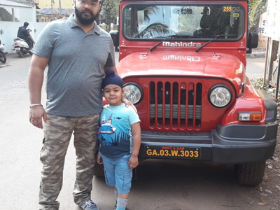 Thar Car on Hire in Goa
